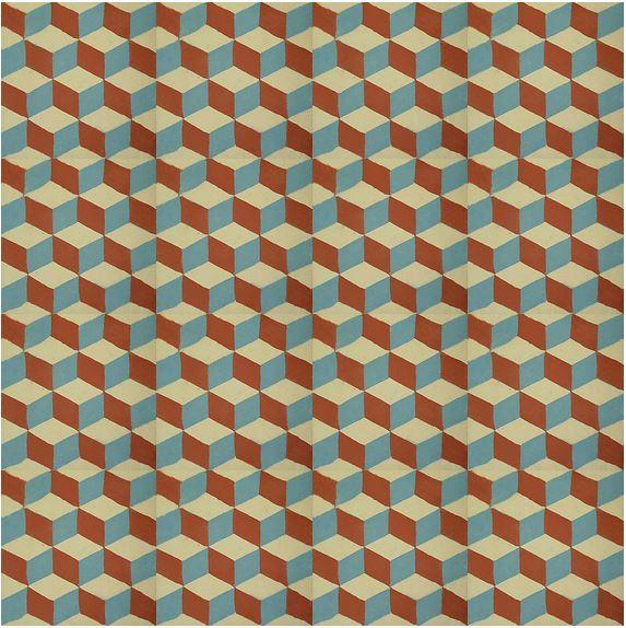 Ladrilho de Losango Geometrico