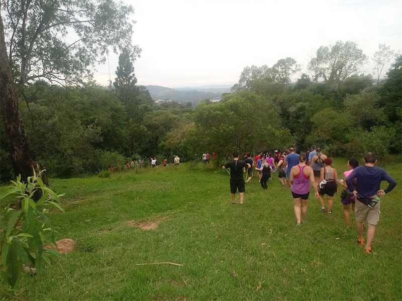 Caminhada em trilha em Campinas