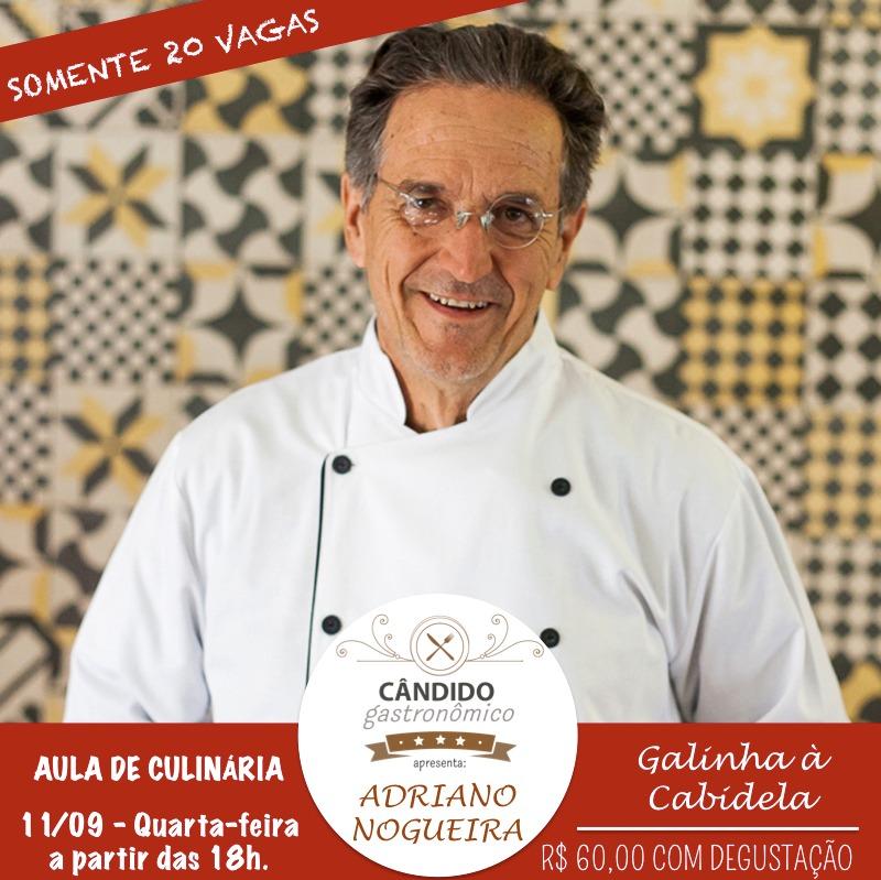 Aula de Culinária - Projeto Cândido Gastronômico