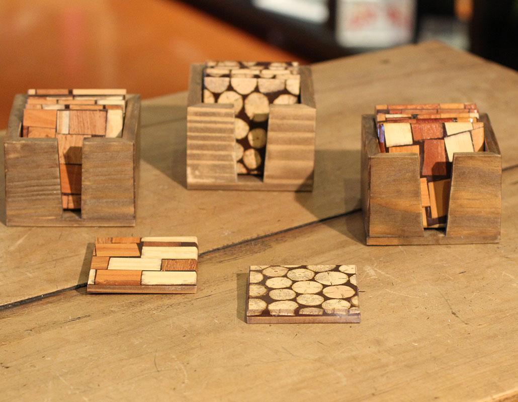 Brindes Corporativos em madeira
