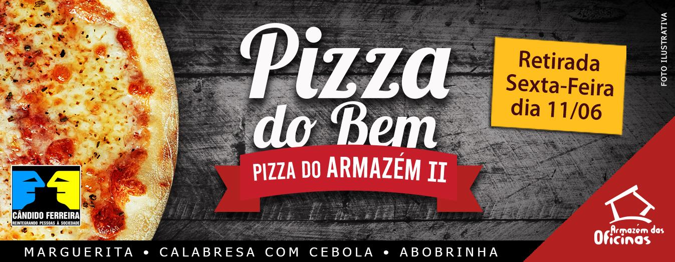 Pizza solidaria campinas