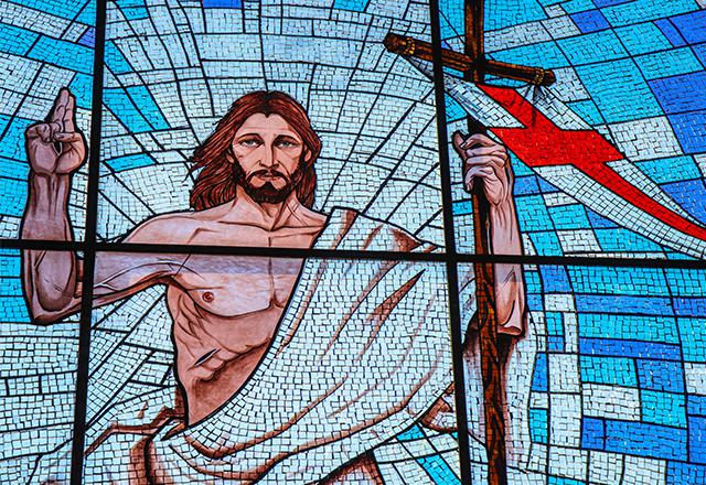 VITRAL RELIGIOSO JESUS CRISTO