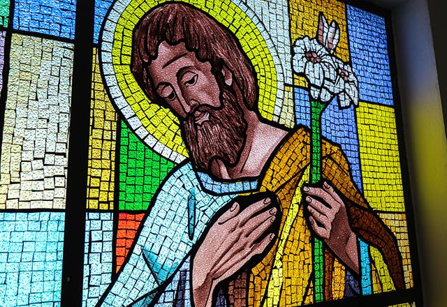 VITRAL RELIGIOSO SAO JOSE
